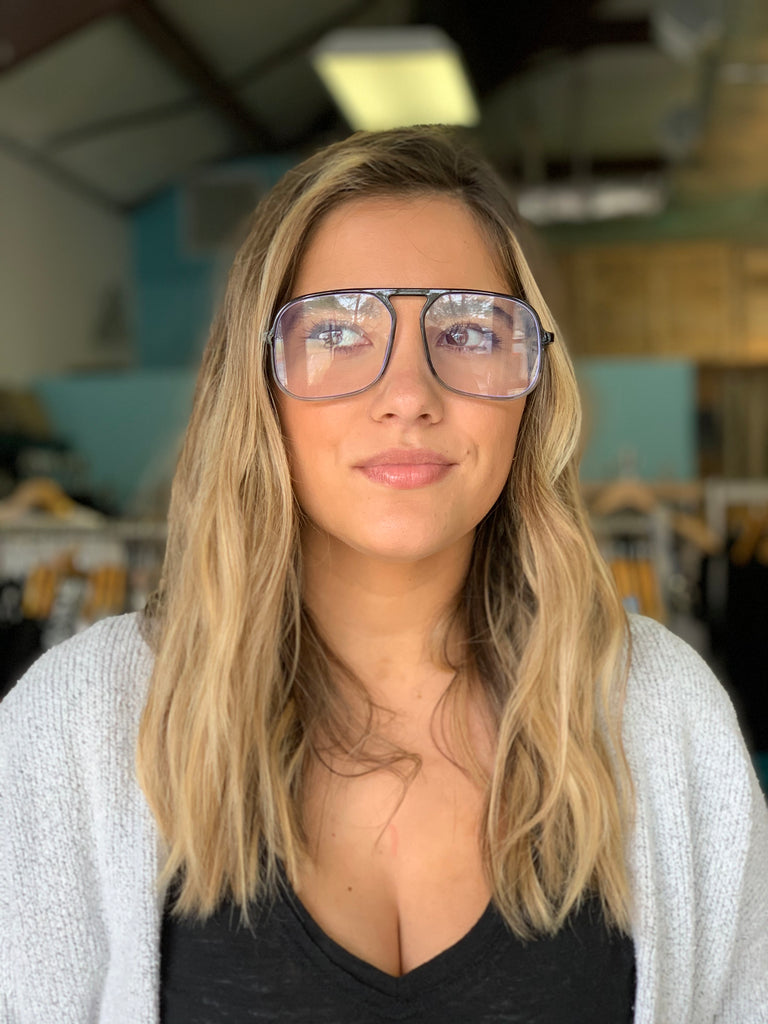 Trendsetter Blue Light Glasses- Black