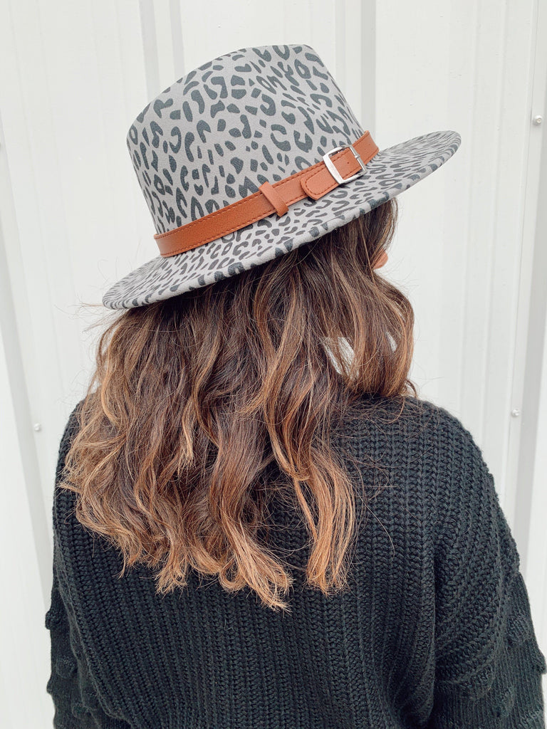 The Tulsa Hat-Grey - BOMSHELL BOUTIQUE
