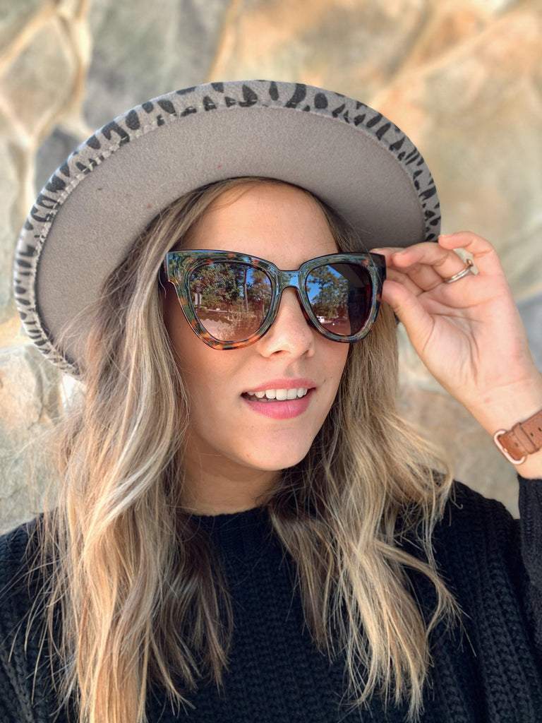 Blinded By You Sunglasses-Tortoise - BOMSHELL BOUTIQUE