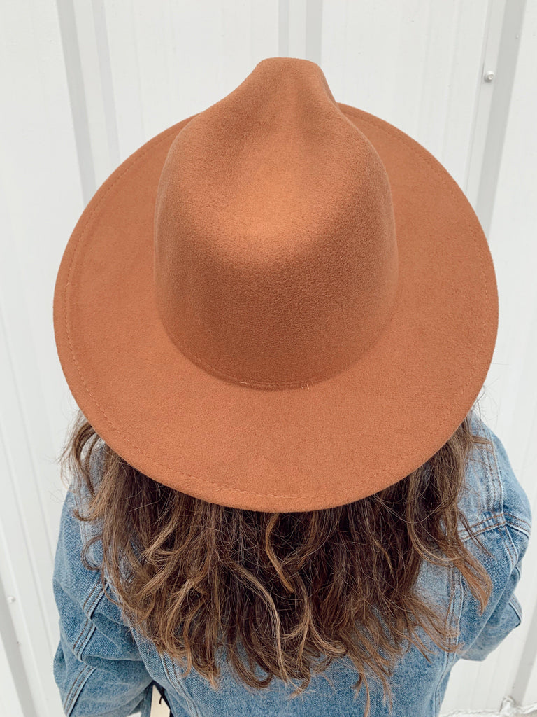 The Billings Hat-Brown