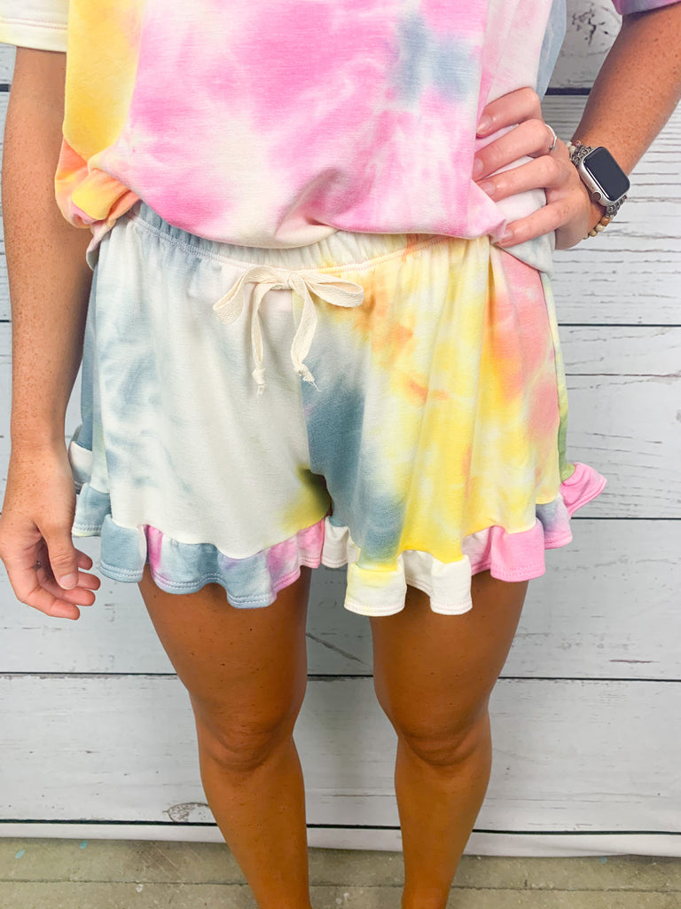 Can't Miss Me Lounge Shorts - BOMSHELL BOUTIQUE