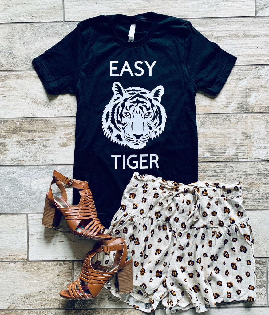 Easy Tiger Tee - BOMSHELL BOUTIQUE