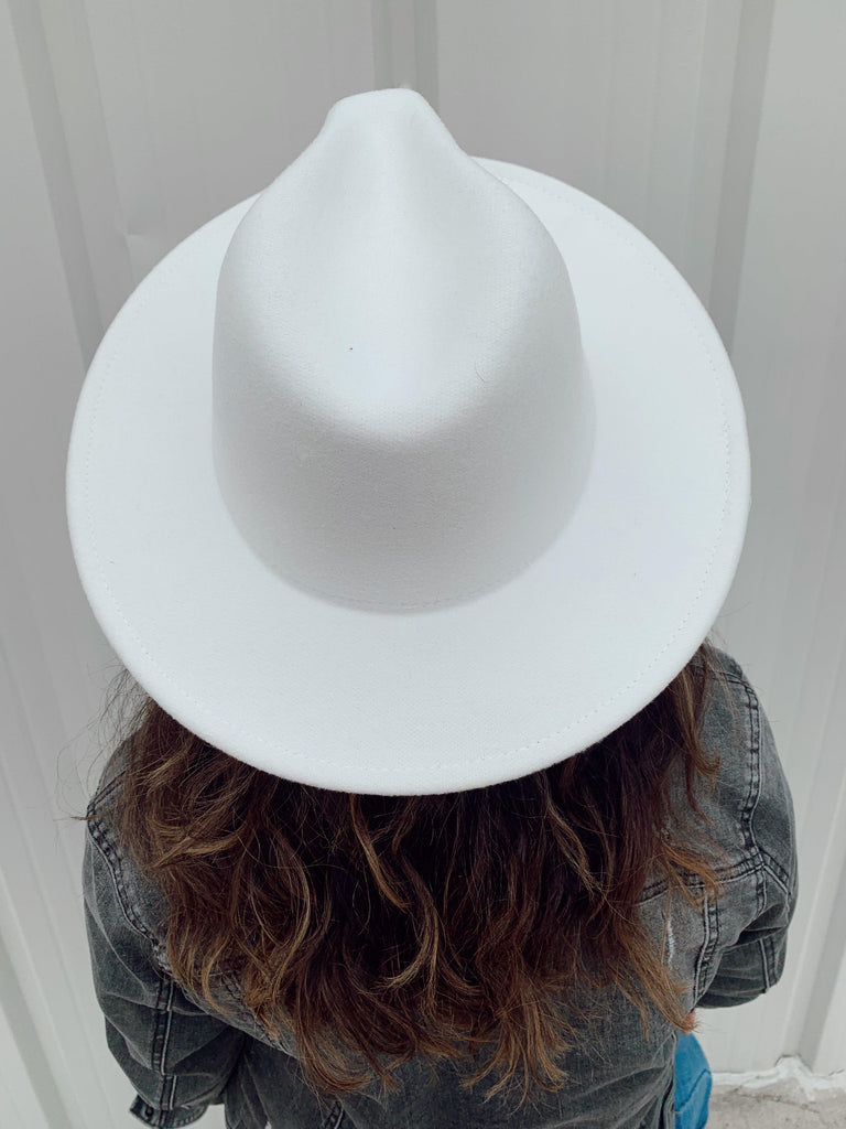 The Billings Hat-White