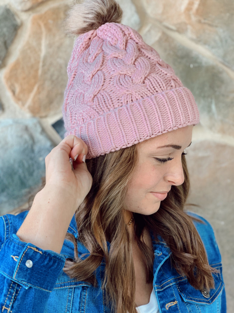 Cozy Knit Beanie - BOMSHELL BOUTIQUE