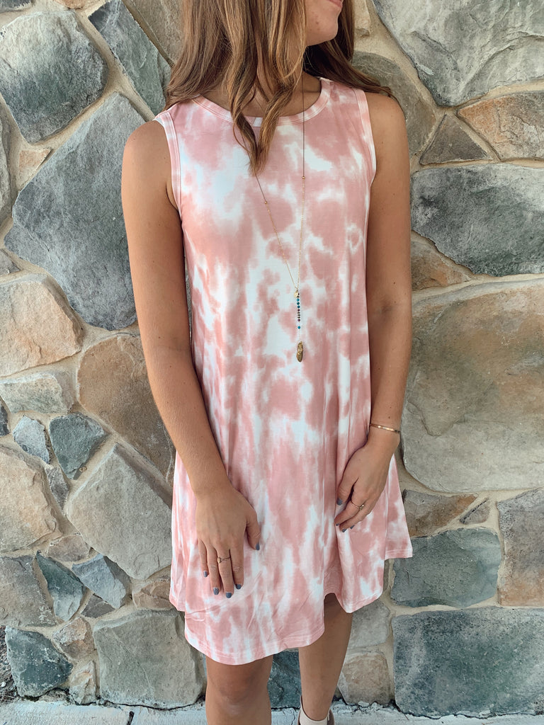 Skye Dress Pink - BOMSHELL BOUTIQUE