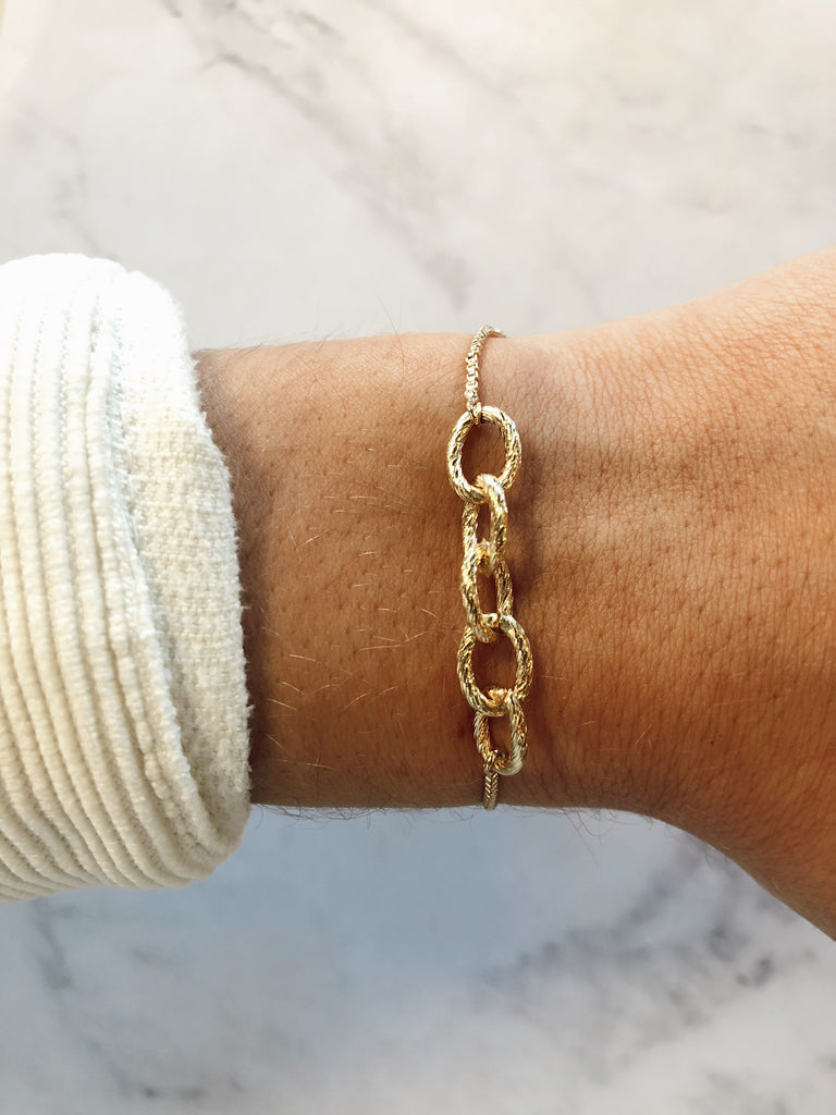 Boca Link Adjustable Bracelet