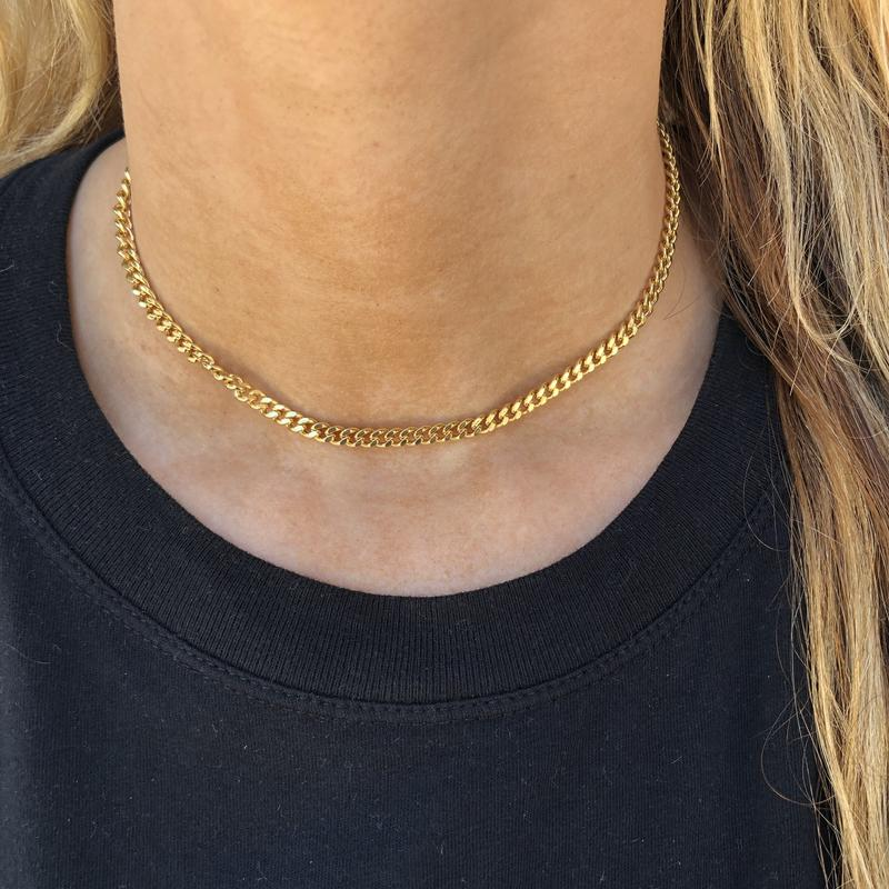 Tish Chain Choker Necklace