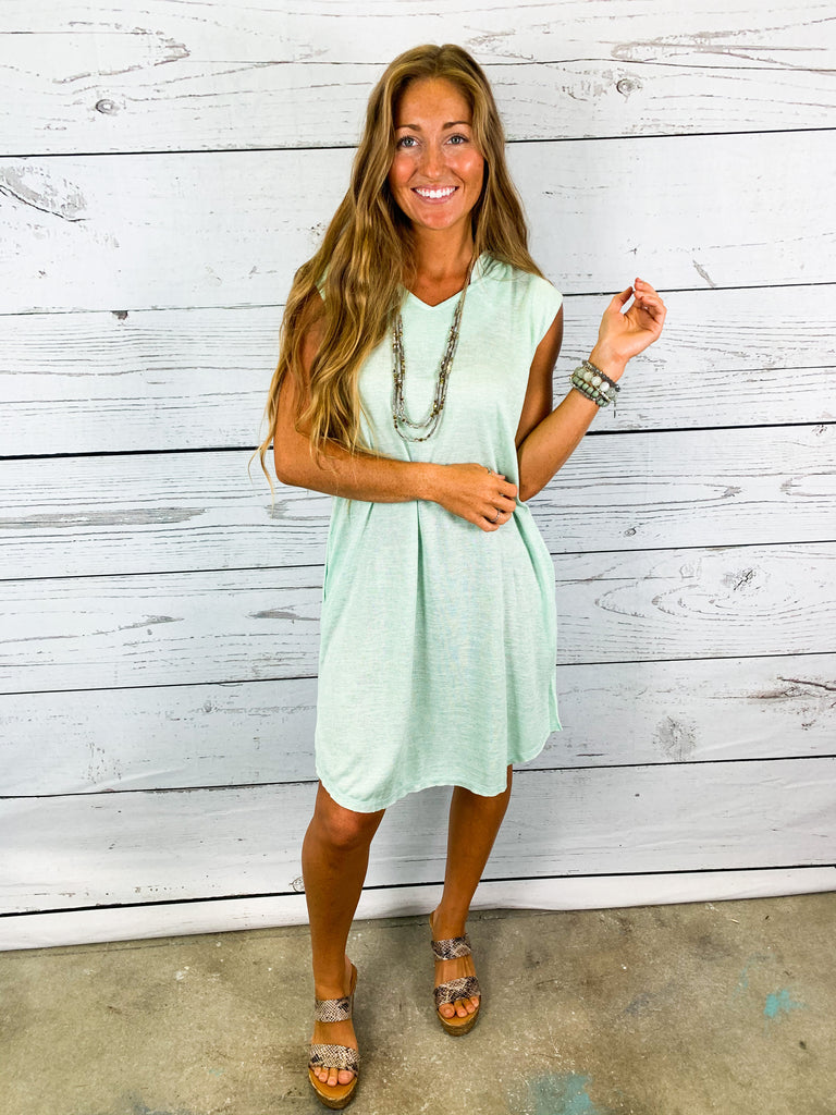 In a Daze Hoodie Dress - BOMSHELL BOUTIQUE