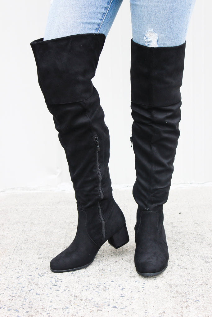 Sky High Riding Boot - BOMSHELL BOUTIQUE