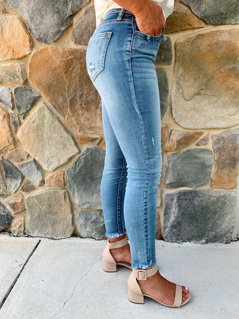 No Need To Distress Jeans - BOMSHELL BOUTIQUE