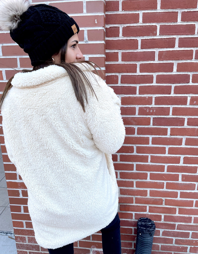 Cool for the Winter Jacket- Cream