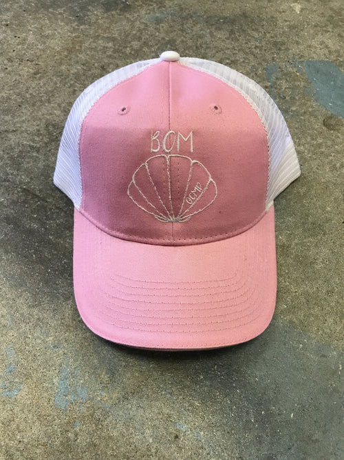 BOM Shell Hat in PINK
