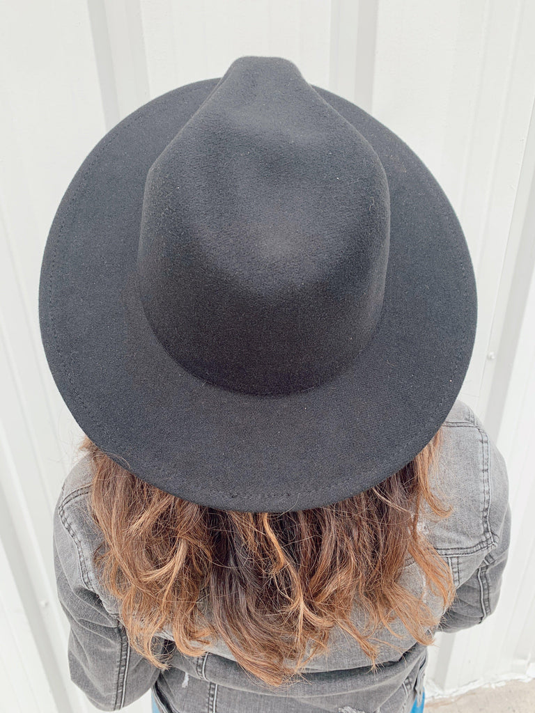 The Billings Hat-Black - BOMSHELL BOUTIQUE