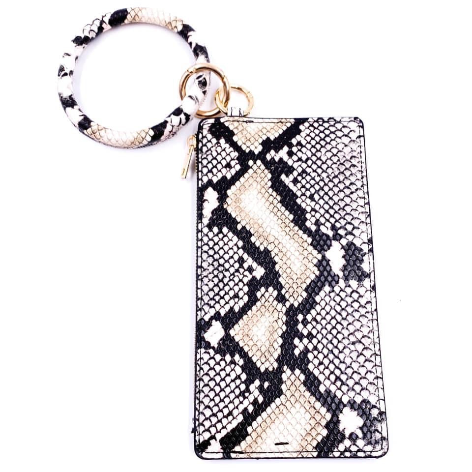 On The Go Keychain Wallets - Color Options Avaliable - BOMSHELL BOUTIQUE