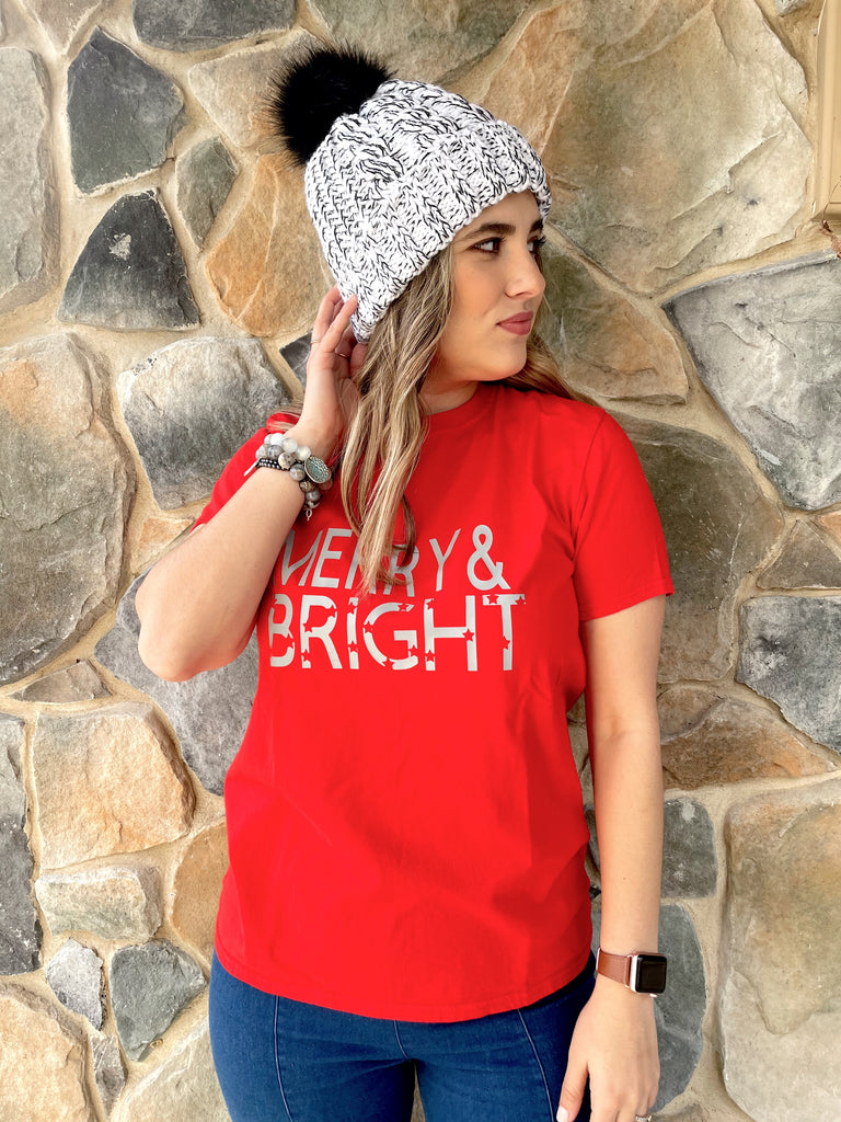 Merry & Bright Holiday T-Shirt