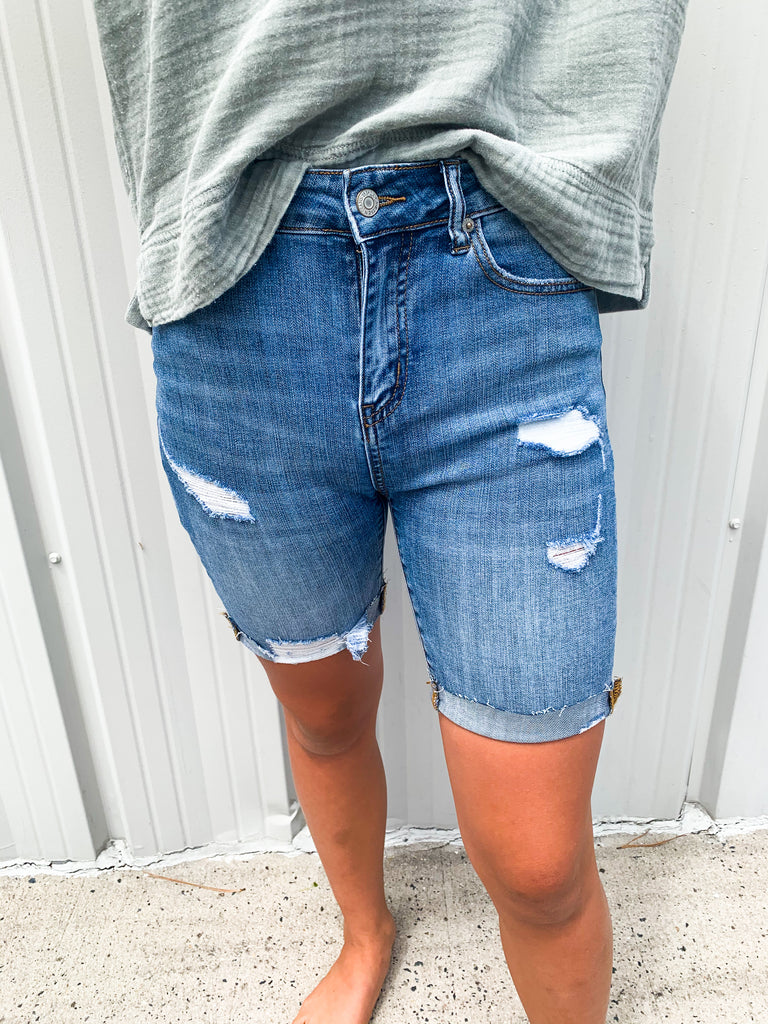 Living For Summer Denim Shorts