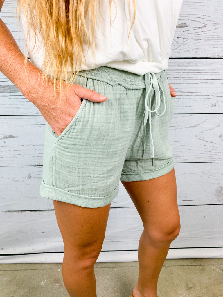 Aria Acid Wash Short - BOMSHELL BOUTIQUE