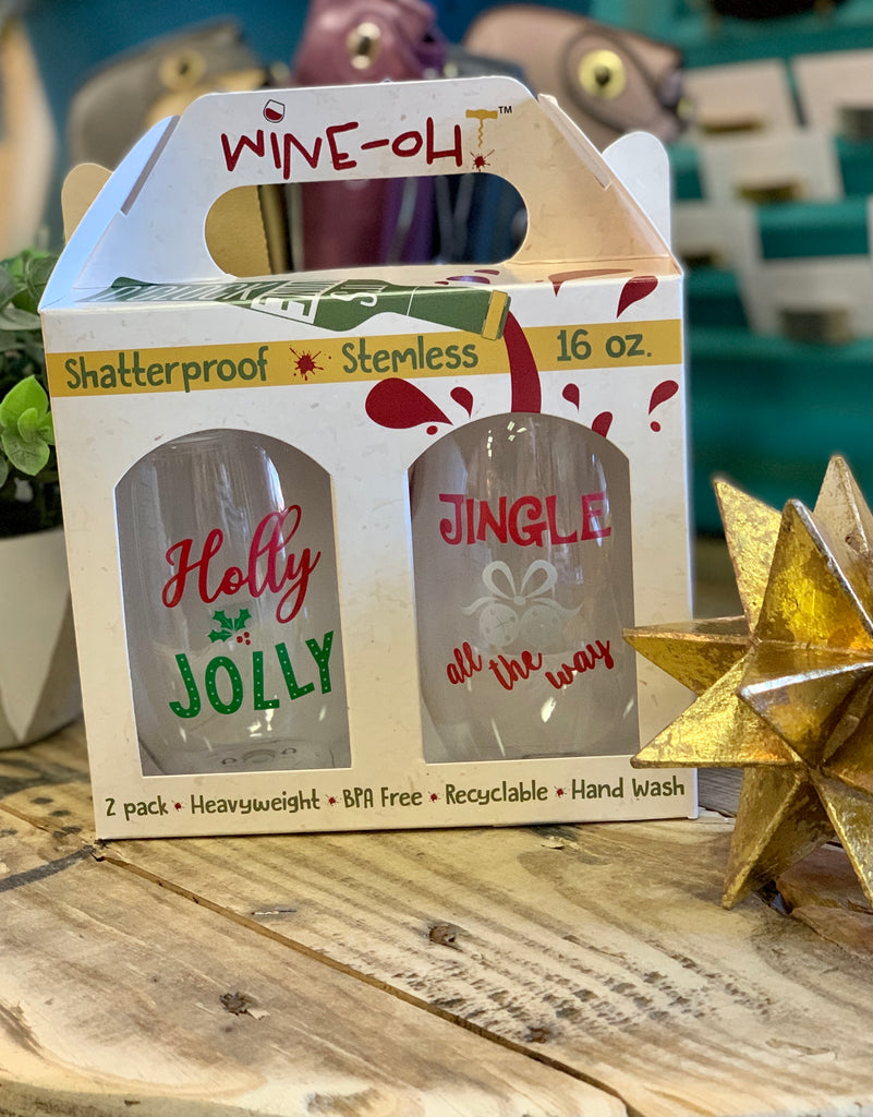 WINE OH 2PK- Holly Jolly