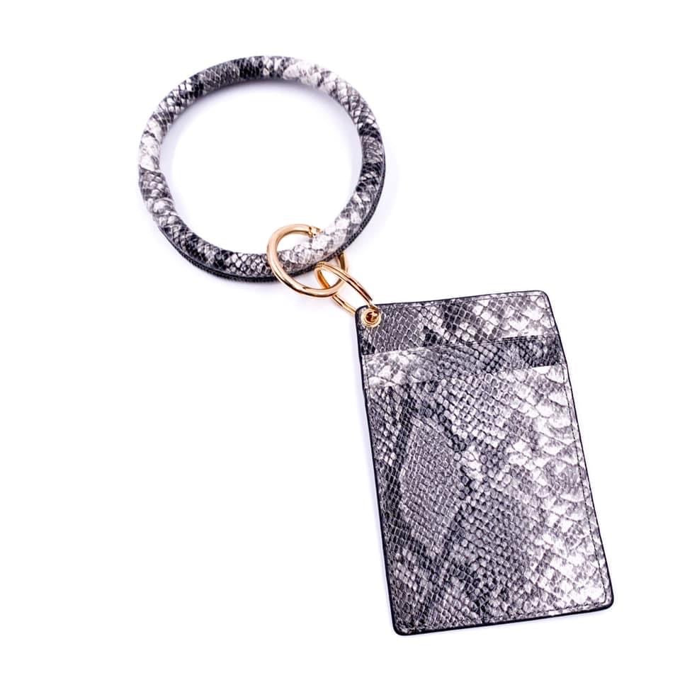 Small Ring Keychain Wallets - Color Options Avaliable - BOMSHELL BOUTIQUE
