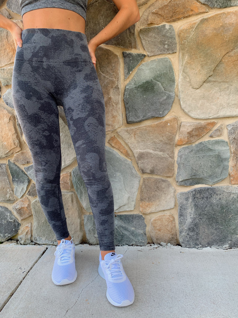 Highwaist Army Leggings - BOMSHELL BOUTIQUE