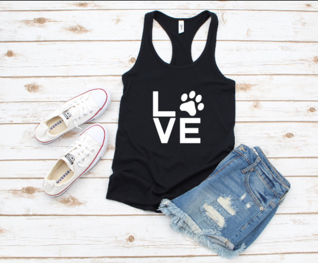 Fur Baby Love Tank Top - BOMSHELL BOUTIQUE