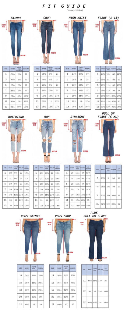 Lilly Belle Jeans by Cello - BOMSHELL BOUTIQUE