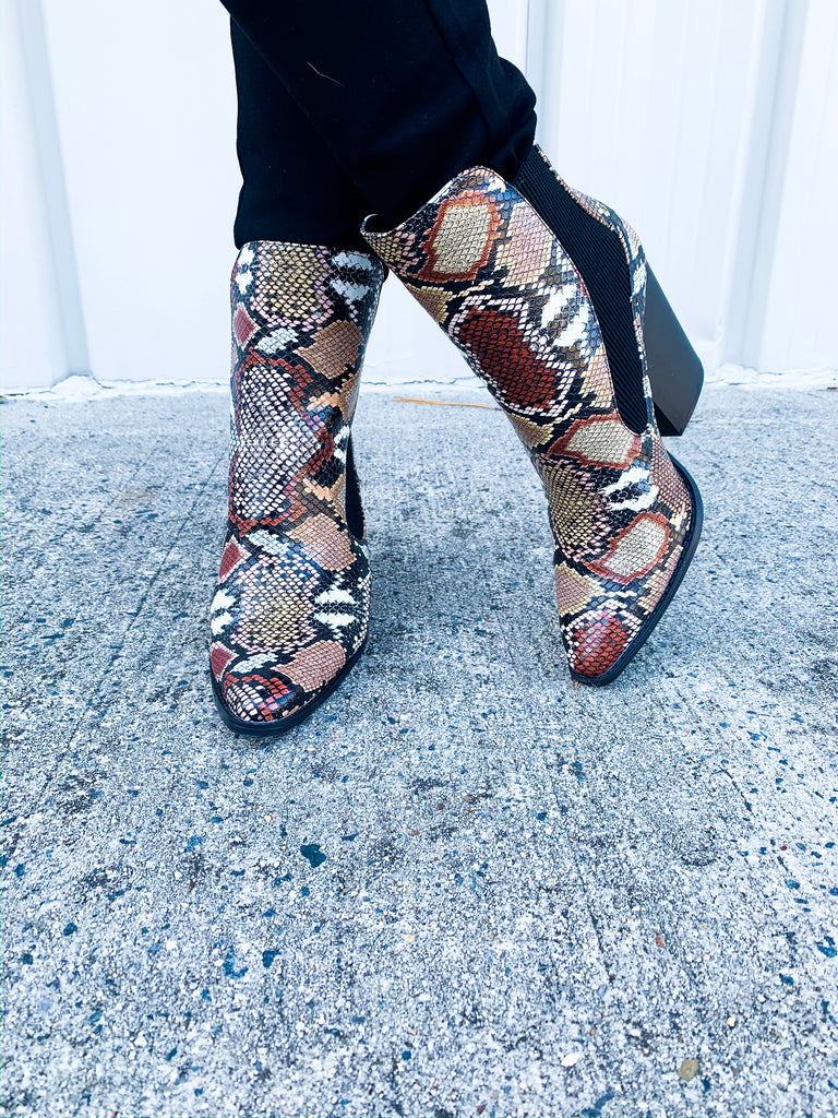 Slay Bootie - BOMSHELL BOUTIQUE