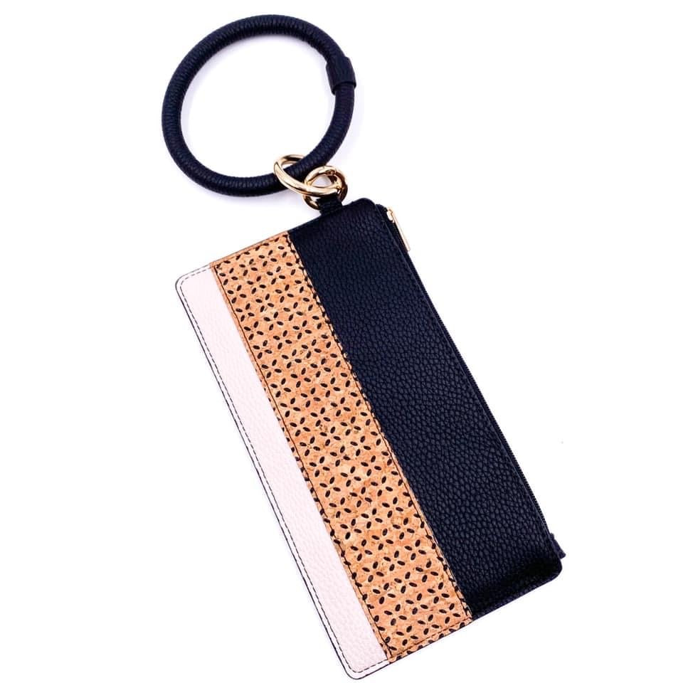 Fashionable and Fun Keychain Wallet - Color Options Avaliable - BOMSHELL BOUTIQUE