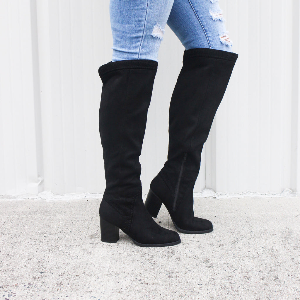 Viva Boot in Black - BOMSHELL BOUTIQUE