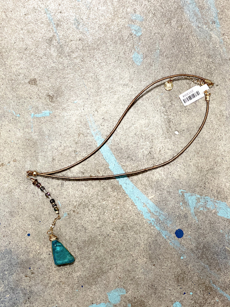 Gypsy Mermaid Choker Necklace- Treasure Collection