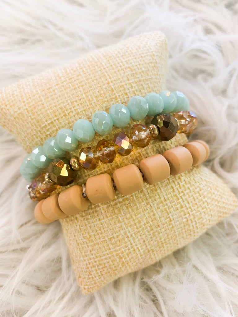 Into The Waves Bracelets - BOMSHELL BOUTIQUE