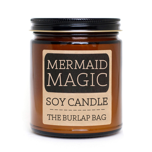 The Burlap Bag Candles