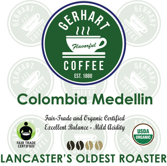 Colombia Medellin Fair Trade Organic