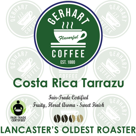 Costa Rica Tarrazu Fair Trade Certified