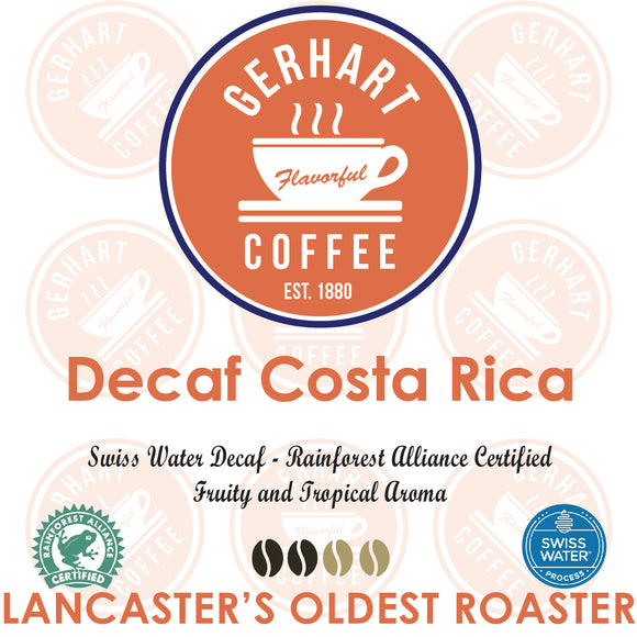 Costa Rica Swiss Water Decaf