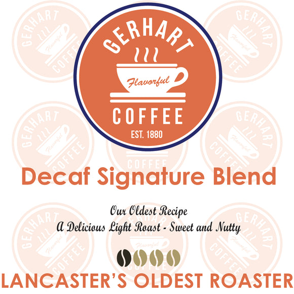 Decaf Signature Blend - Single Brew Tear Packs