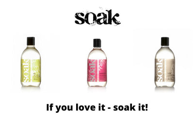 SOAK WASH 375 ML.