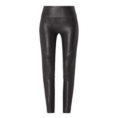 Spanx, FAUX LEATHER QUILTED LEGGINGS | SALE - Bellizima