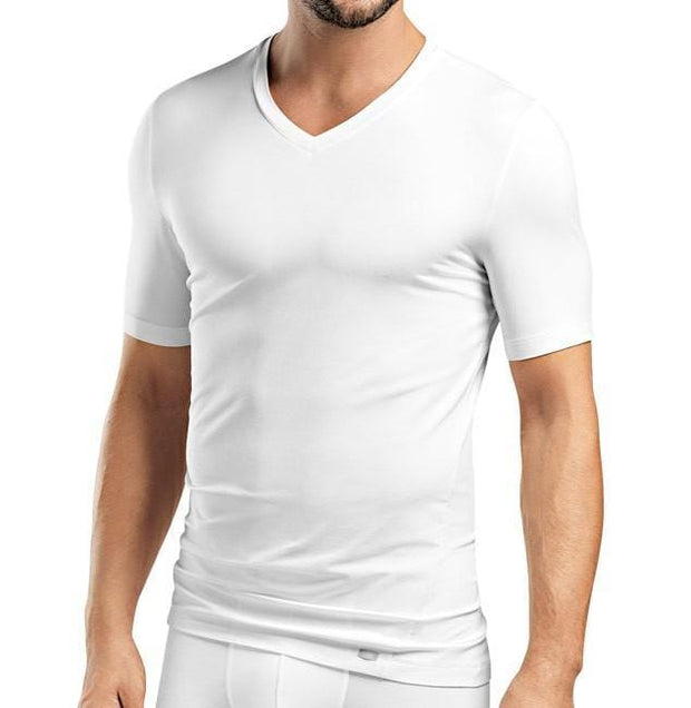 Hanro, LIAM SHIRT V-NECK - Bellizima