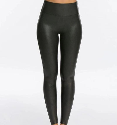 Spanx, FAUX LEATHER LEGGINGS - Bellizima