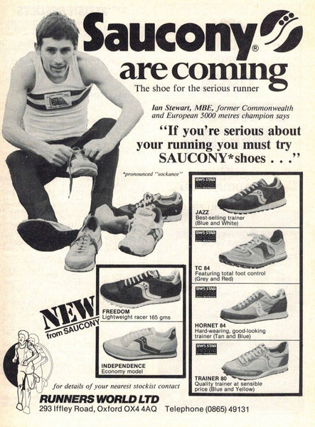 Vintage Saucony Advert