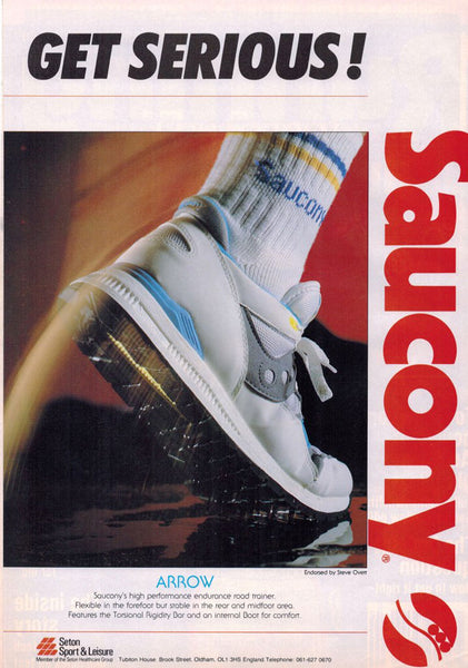 Vintage Saucony Arrow Advert