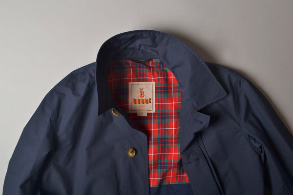 Baracuta Original Trench Coat Navy