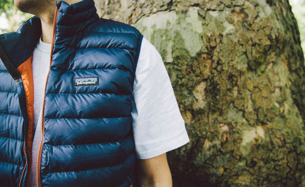 Patagonia Down Sweater Vest Navy