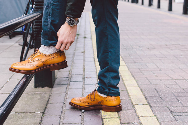 Trickers of England Brogues