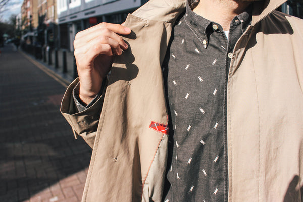Baracuta Original Trench Coat