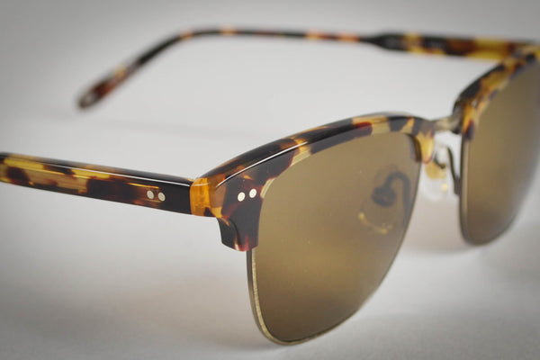 Garrett Leight Lincoln 48 Dark Tortoise