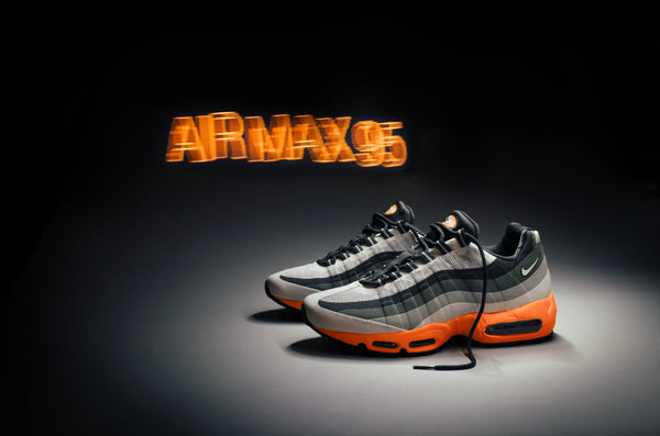 Nike Air Max 95 Grey Orange