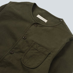 KESTIN HARE - CONTOUR SHIRT - LIGHT OLIVE