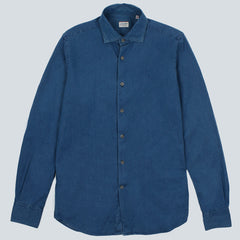 GLANSHIRT-WEEN MENS SHIRT-BLU SCURO